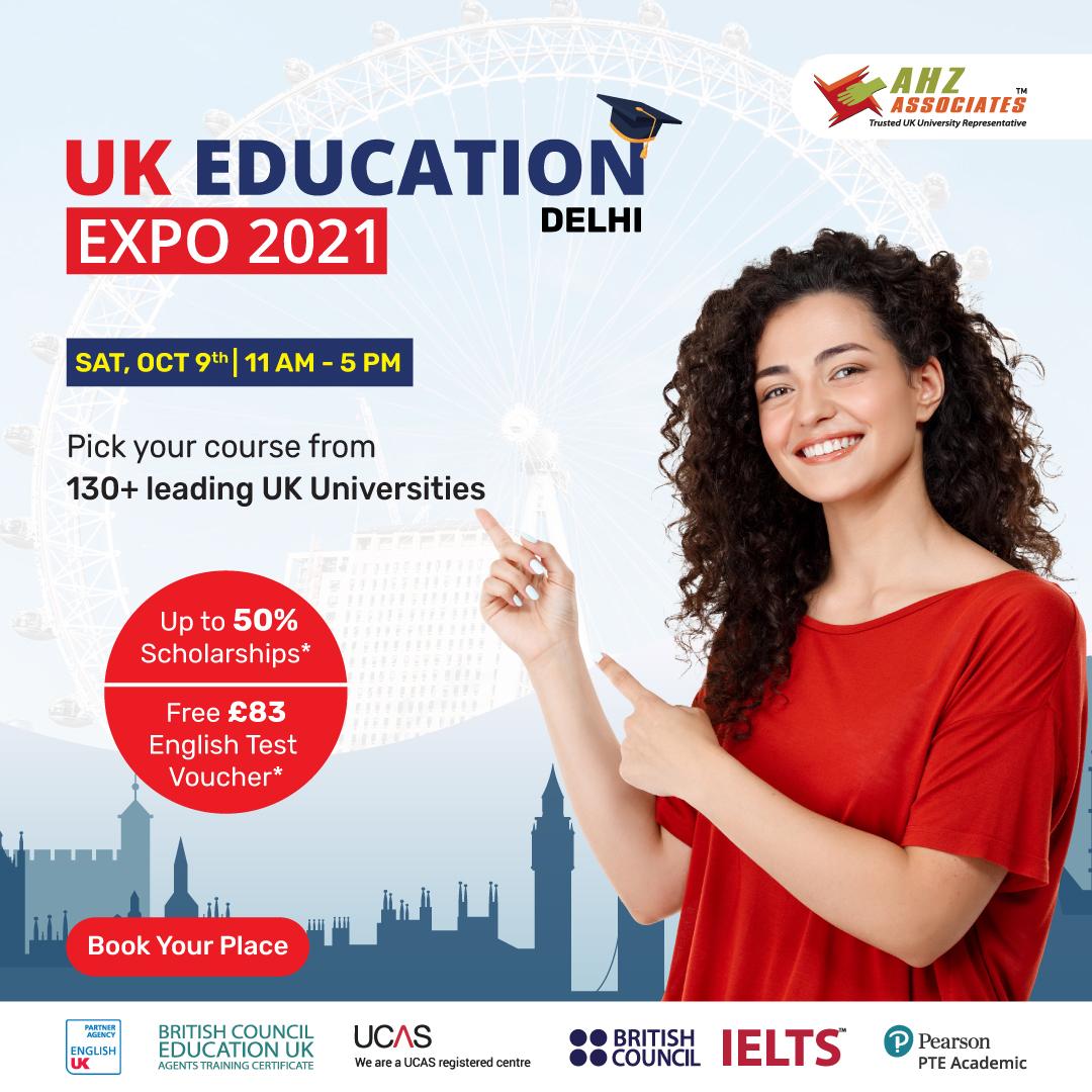 UK Education Expo Delhi
